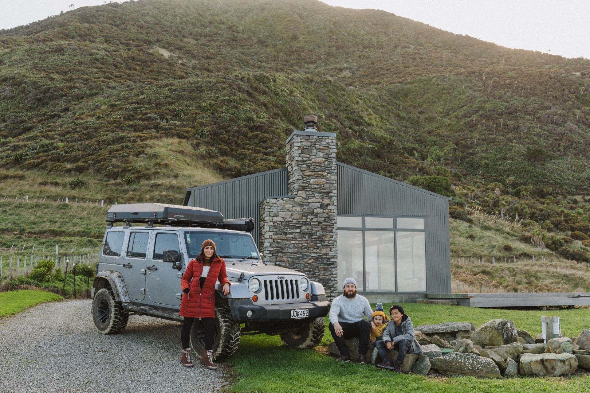 STONY BAY LODGE – WAIRARAPA JEEP ADVENTURES