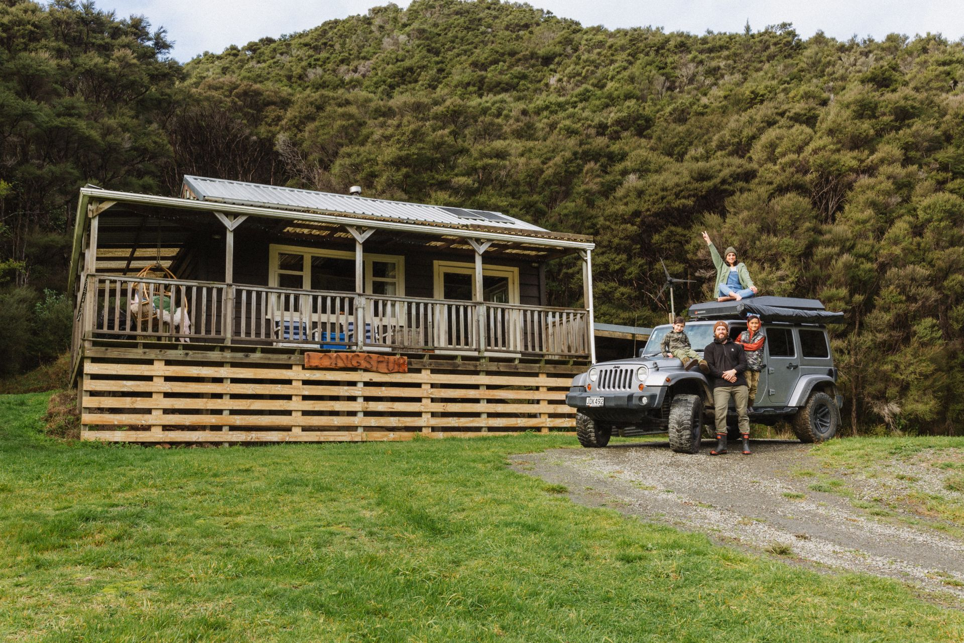 Longspur Eco Cottage – Wairarapa Jeep Adventures